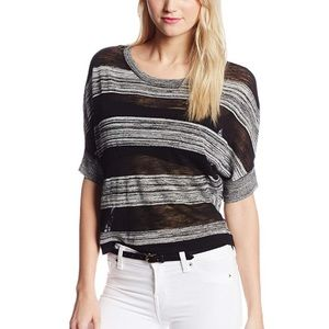 BCBG || Camille Striped Sweater
